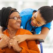 nurse assisting woman - Adult care in Waldorf,, MD